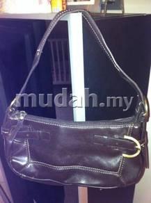 MNG brown handbag