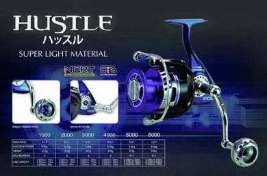 Ryobi Hustle 1000 ~ 6000 Fishing Reel - Pancing