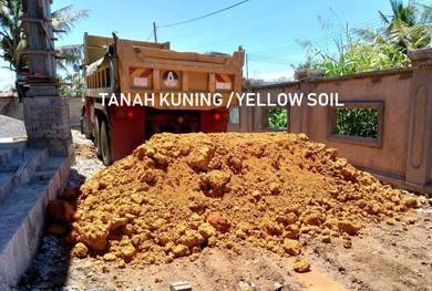 Fresh soil tanah kuning guna timbus