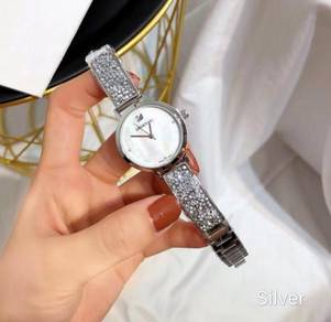 Swarovski bangle full crystal watch