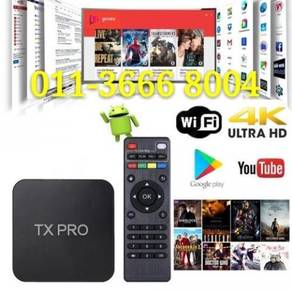 Fox android 4k smart os tv box iptv tvbox hd
