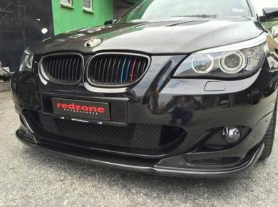 BMW E60 Msport Carbon front lip Hamann E60 bodykit