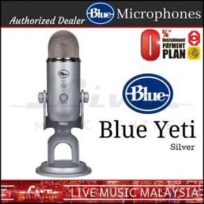 Blue Microphones Yeti USB Microphone Mic, Silver