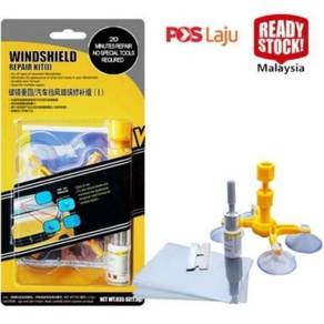 Windshield windscreen repair kit