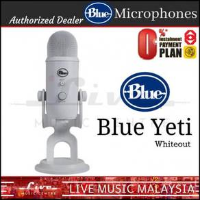 Blue Microphones Yeti USB Microphone Mic, Whiteout