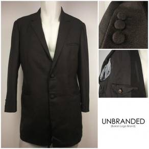 UNBRAND Brown Single Breasted Blazer Jacket