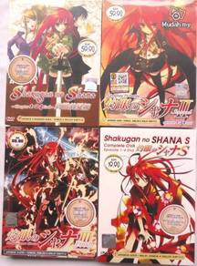 DVD ANIME SHAKUGAN NO SHANA Season 1-3 OVA