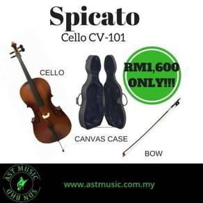 Cello Spicato CV-101 With Bag