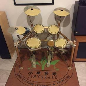 Tiny grass Real drumhead electric digital drum set