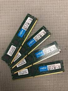 Crucial Micron 4x8GB 32GB DDR3 RAM kit