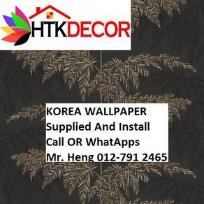 Wall paper Install at Living Space 20GFW