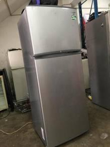 Silver Grey Fridge Refrigerator Samsung Peti Sejuk