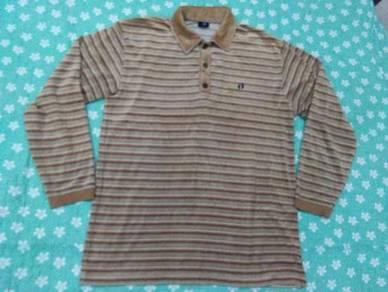 HANG TEN POLO shirt long sleeve size L