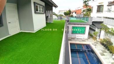 Roof top grass artificial carpet turf