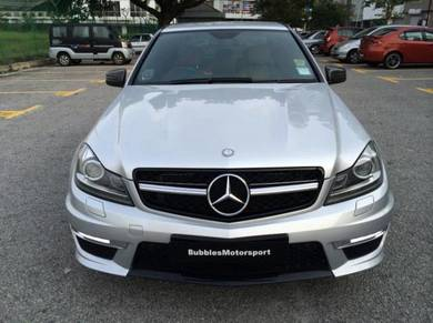 Mercedes C-CLASS W 204 facelift amg conversion