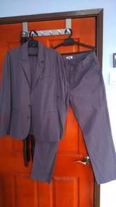Cotton Men Suit & Pants Size L