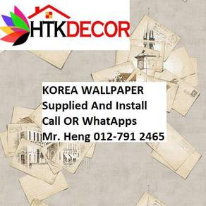 Wall paper with Installation for your HOME 2AADW