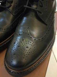 Coach Bryant Wingtip Leather Shoes