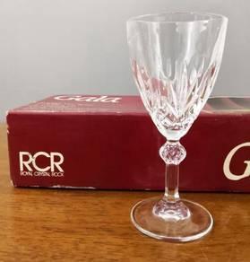 Cawan kristal RCR GALA Crystal wine glass 6
