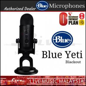 Blue Microphones Yeti USB Microphone Mic Blackout