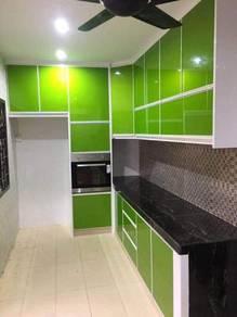 Kitchen Cabinet, Kabinet Dapur Murah,Solid Surface