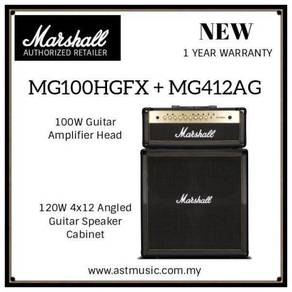Marshall MG Series Head And Cabinet Guitar Amp