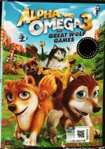 DVD ANIME Alpha And Omega 3 The Great Wolf Games