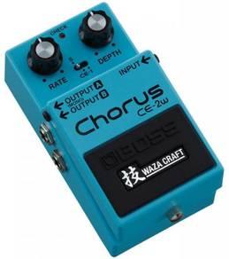 BOSS CE-2W Chorus - Guitar Pedal (FREE Cables)