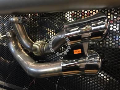 Porsche cayenne 957 GTS tail pipe