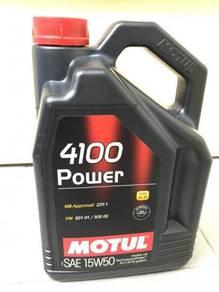 MOTUL 4100 Power Semi 15W50 - 5 Lit Engine Oil