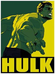 Poster HULK POP ART