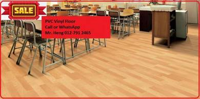 Natural Wood PVC Vinyl Floor - With Install fd3esd