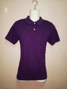 T-shirt collar purple like new