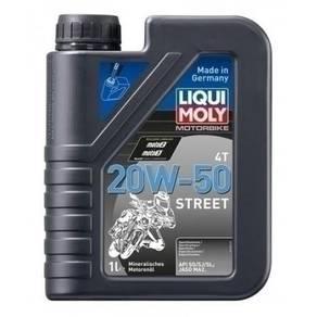 Liqui Moly Motorbike Engine Oil 4T 20W50 Street