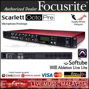 Focusrite Octopre 8-channel Micr Preamplifier