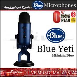 Blue Microphones Yeti USB Microphone Mic Mid Blue