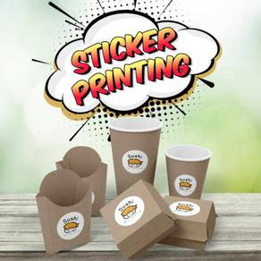Sticker Printing Promo