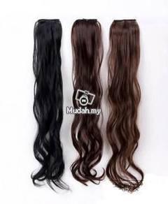 2pcs Wig Hair Piece Seamless Wave-LL454