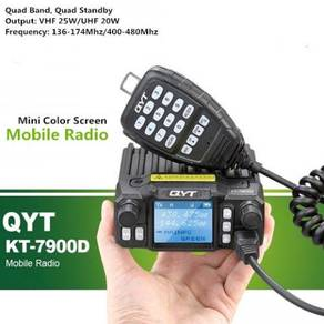 QYT KT-7900D Quad Band 25W Mini Amateur Radio