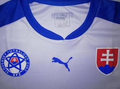 Rare Slovakia National Soccer Puma Jersey