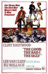 Poster MOVIE THE GOOD THE BAD AND THE UGLY