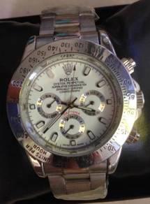 Jam 3 Subdial steel cosmograph watch