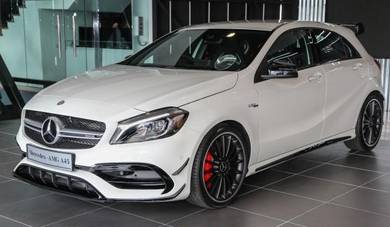 Mercedes w176 2018 facelift AMG A45 conversion