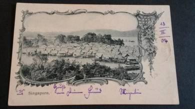 Postcard Malay Kg St James 1904 PC 1667