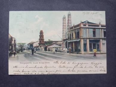 Postcard South Bridge 1905 No 2750