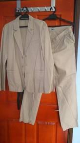 Cotton Men Suit Size L