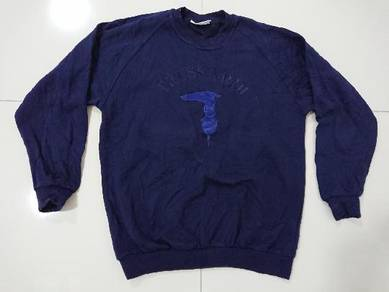 Trussardi sweatshirt embroidered fits to size M