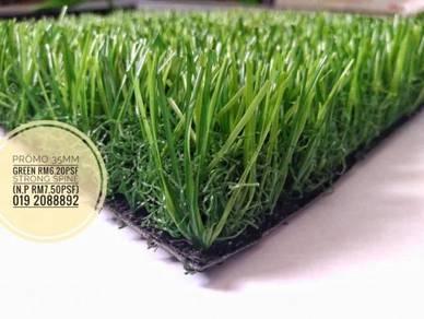35mm GREEN ARTIFICIAL GRASS landscape