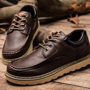 0250 England Retro Dark Brown Casual Boot Shoes