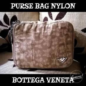 Purse Bag Nylon Authentic B0ttega Veneta